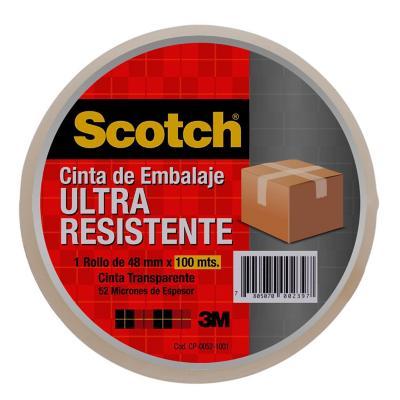 Cinta adhesiva para embalaje 48 mm 100 m