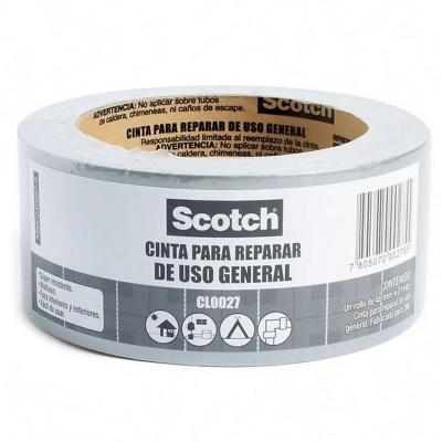 Cinta adhesiva multiuso gris 48 mm 27 m