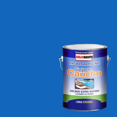 Pintura para piscina semi brillo 1 gl azul tahití
