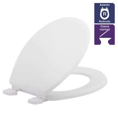 Asiento WC redondo plástico boné