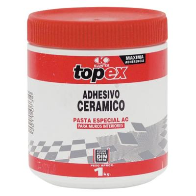 Adhesivo ceramico/muro superficie flexible 1kg