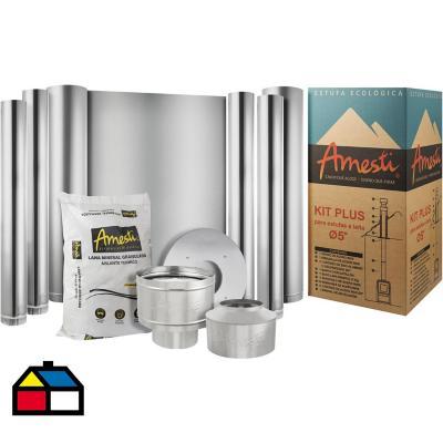 Kit instalación calefactor 1 piso 5