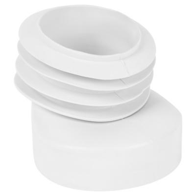 Adaptador flexible para WC PVC 110 mm