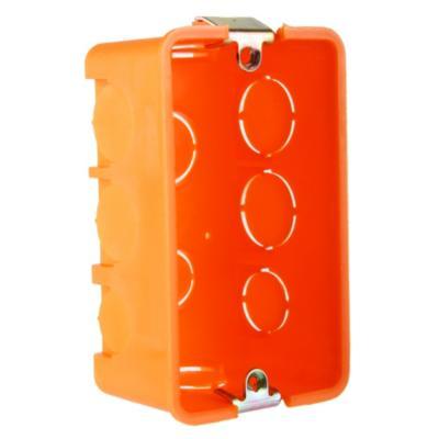 Set de cajas de distribución embutidas 105x61 mm 6 unidades