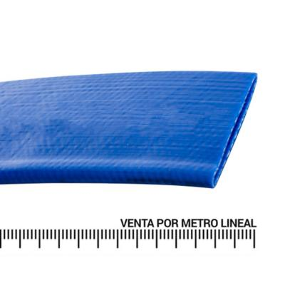 "Manguera plana 1"" 4 bar metro lineal"