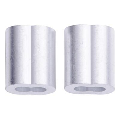 "Abrazadera aluminio 5/16"""