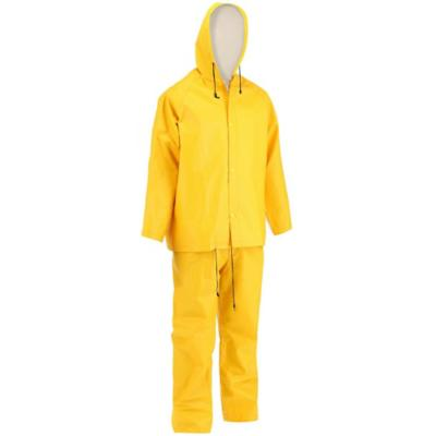 Traje impermeable antidesgarro talla XXL amarillo