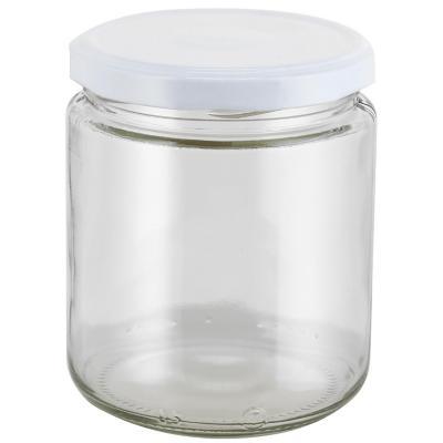 Frasco con tapa blanca 460 ml