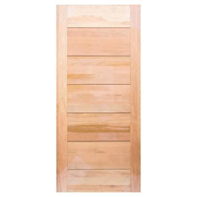 Puerta de Lenga 6 paneles 90 x 200 cm
