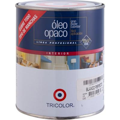 Óleo opaco 1/4 gl blanco