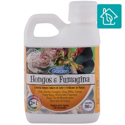 Fungicida y fertilizante para plantas 150 ml botella