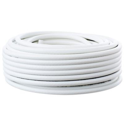 Cable coaxial RG 6 10 m Blanco