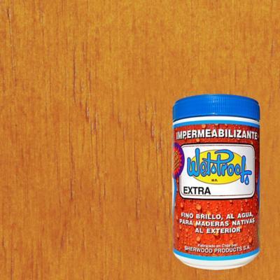 Barniz impermeabilizante semibrillante 1/4 gl Raulí