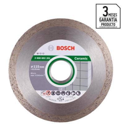 "Disco de diamante 4,5"" acero"