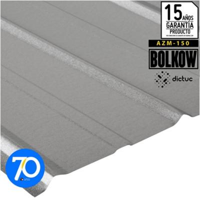 0.30 x 895 x 2500 mm Plancha 5V zinc