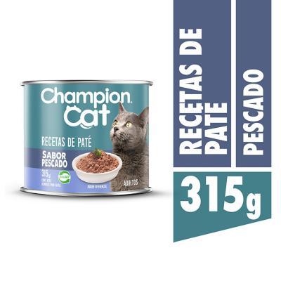 Alimento húmedo para gato adulto 315 g pescado