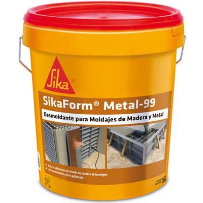 Tineta 16 litros Desmoldante Sika Form Metal 99