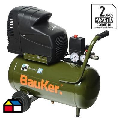 Compresor de aire portátil 2 HP 25 litros