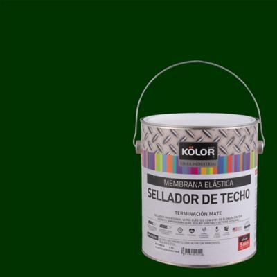 Sellador para techo mate 1 gl verde