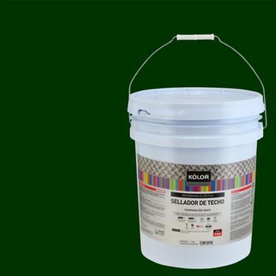 Sellador para techo mate 5 gl verde