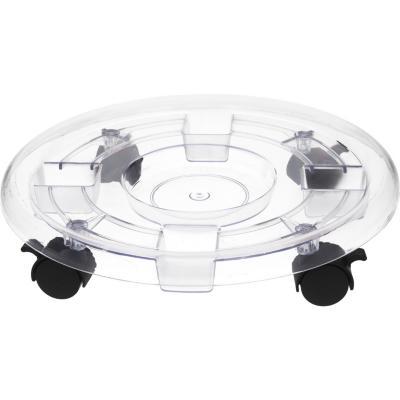Base para macetero con ruedas 38 cm de plástico