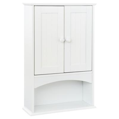 Botiquín para baño 40x62,5x15 cm blanco