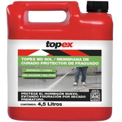 Bidón 4.5 lt Membrana de curado Topex No-Sol