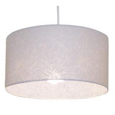 Lámpara de colgar Doble 1 luz Blanca