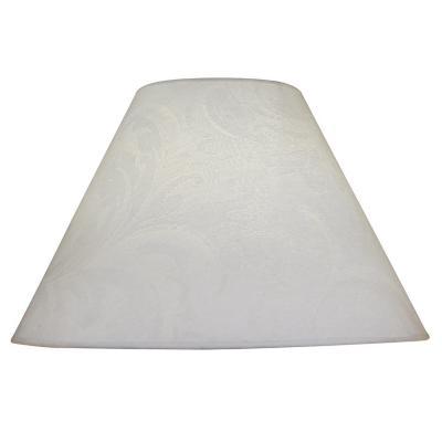 Pantalla para lámpara blanco