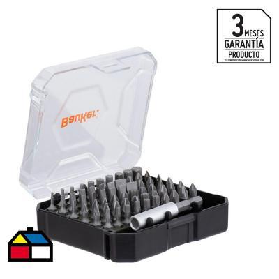 Set de puntas para destornillador 61 unidades