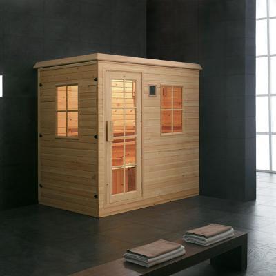 Sala de sauna 200x135x206 cm