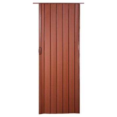 Puerta plegable PVC caoba Tivoli 90 x 200 cm