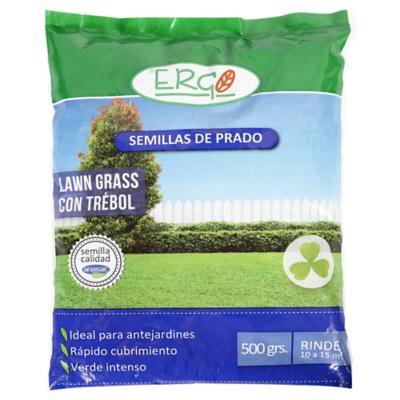 Semilla lawn grass con trébol 500 gr bolsa