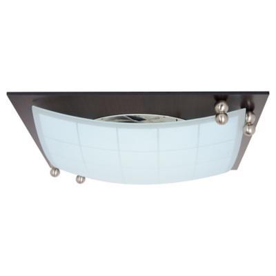 Plafón 35x35 cm 2 luces 60 W
