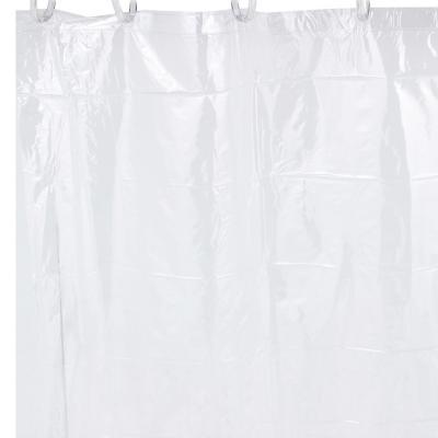 Forro para cortina de baño PVC 140x200 cm transparente