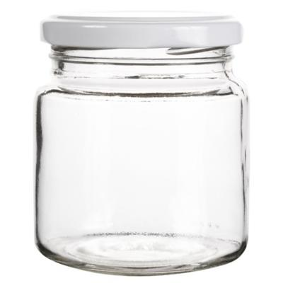 Frasco con tapa 260 ml vidrio transparente