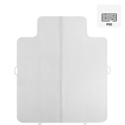 Protector para piso laminado plástico blanco