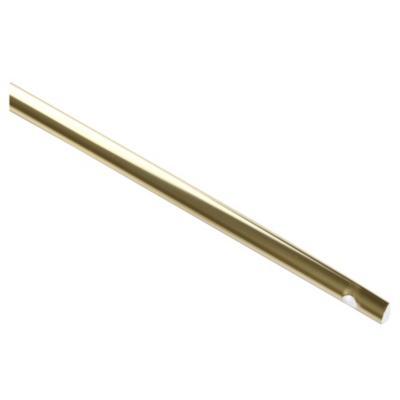 Barra media caña para españoleta 125 cm