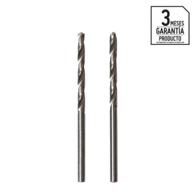 Broca HSS para metal 3x61 mm