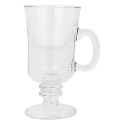 Taza vidrio caf'é grande