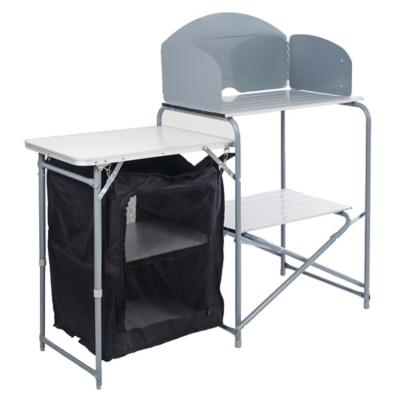 Mesa cocina plegable + alacena con cubierta