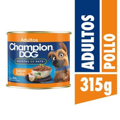 Alimento húmedo para perro adulto 315 gr pollo y cereales