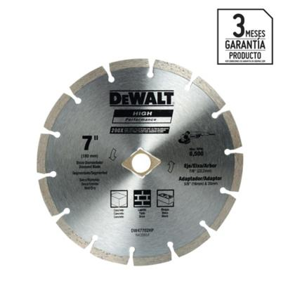 "Disco de diamante 7"" acero"