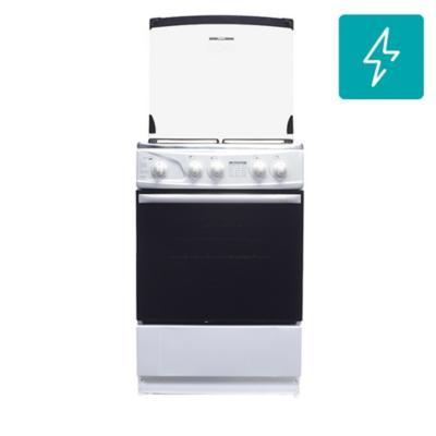 Cocina a gas 4 quemadores 66 litros blanco