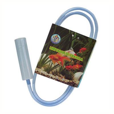 Limpiador de gravilla para acuario plástico