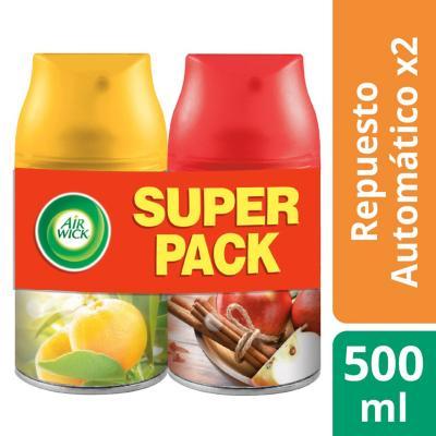 Pack de recargas para aromatizante automático 2 unidades