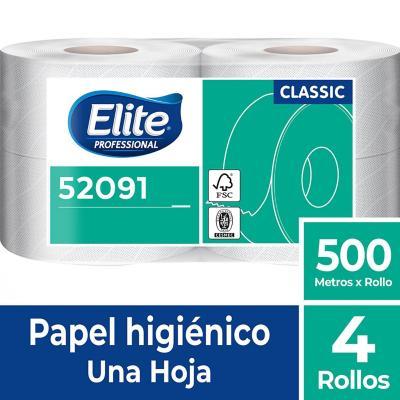 Papel higiénico 500 m 4 rollos