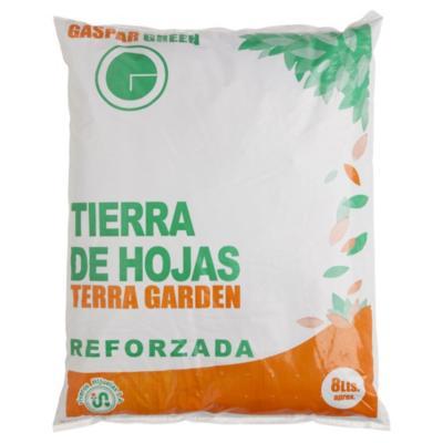 Tierra de hoja para jardín 8 litros saco