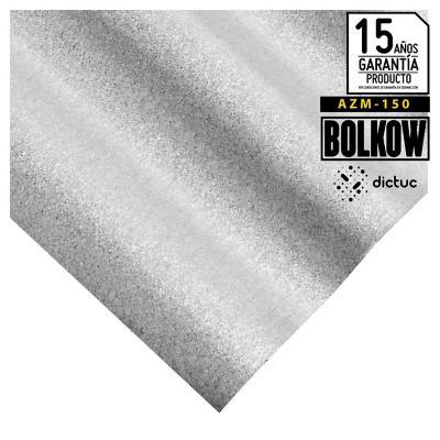 0.35 x 851 x 3660 mm, Plancha Acanalada Onda zinc gris
