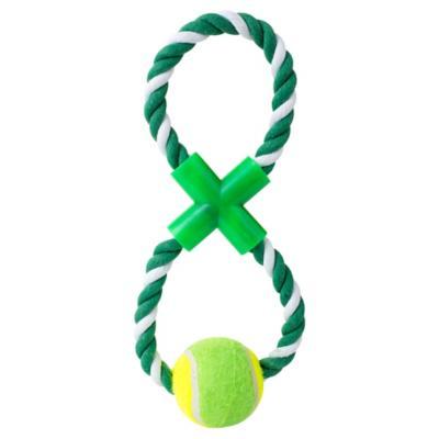 Juguete para perro cuerda con pelota